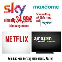 Videoanleitung für den kostenlosen Zugriff auf die Mediatheken wie von Sky, Netflix, Amazon Prime und Maxdome