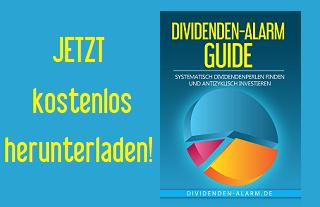 Jetzt den Dividenden-Alarm Guide kostenlos herunterladen
